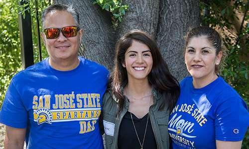 MVLA Scholar Student and Parents
